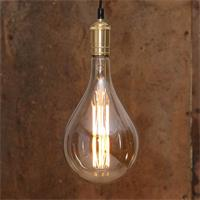 Vintage LED Leuchte erzeugt einen angenehmen warmweißen Schein