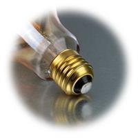 Jumbo LED Leuchtmittel in Tropfenform für E27 Fassung