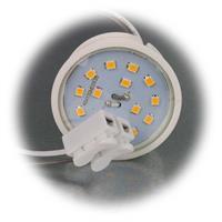 Extra  Leuchteneinsatz ist per Lichtschalter dimmbar