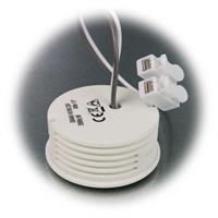 Leuchteneinsatz ist per Lichtschalter dimmbar