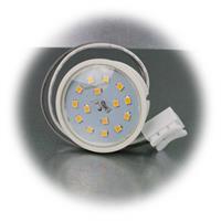 Neutralweißer Leuchteneinsatz per Lichtschalter dimmbar