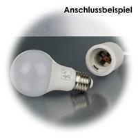 Smart LED mit E27-Sockel und Bewegungsmelder