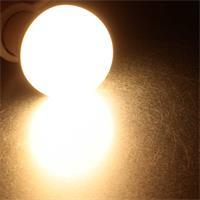 Warmweiß strahelndes E27-Leuchtmittel