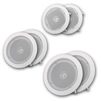 Set o 2 full range loudspeaker | white | indoor | 8/10/20W