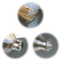 Warmweiß leuchtende Jumbolampen mit E27-Sockel