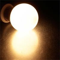 Warmweiß leuchtendes E27 Leuchtmittel mit Bewegungsmelder