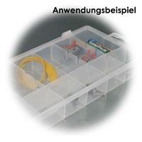 Kunststoffbox zur Aufbewahrung von Kleinteilen