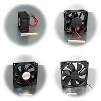 Ventilator in 4 Größen von 40x40 bis zu 120x120mm