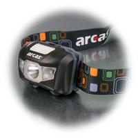 LED Outdoorleuchte mit verstellbaren und  elastischen Kopfband