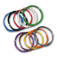 10m braid flexible | 0.5mm/0.04mm² | various colours