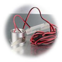 Mini-Einbaustrahler inkl. Trafo  zum Anschluss an 12V