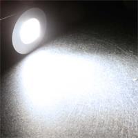 "LED Mini-Einbauspot ""Slim-22"" leuchtet neutralweiß"