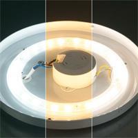 LED Leuchte mit einstellbarer Farbtemperatur und Lichtfarbe