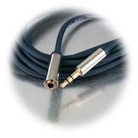 Abgeschirmtes 3,5mm Klinken-Verlängerungskabel