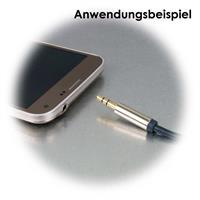 Verlängerungskabel mit 3,5mm Klinkenstecker und -buchse