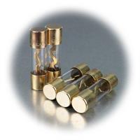 60A- Glassicherungen im 5er Pack