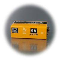 MX1604 Alkaline-Batterie mit 9V Spannung