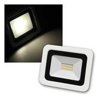 LED Fluter SMD-Slim | 230V/10W, 700lm, 3000K | IP44