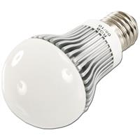 RGB LED Glühbirne dimmbar mit dem Maß 60x85mm perfekt für Partybeleuchtung oder als Dekolicht