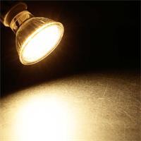 LED Leuchtmittel GU10 mit warmweißem Licht für Wohnräume