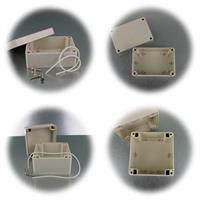 Elektronik- Modulgehäuse in verschiedenen Größen