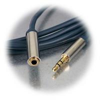 3,5mm Klinken-Verlängerungskabel in 3 Längen