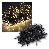 LED Büschellichterkette | 400 LEDs | 4m | warmweiß | IP44