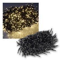 Büschel-Lichterkette | 800 LEDs | 8m | warmweiß | IP44