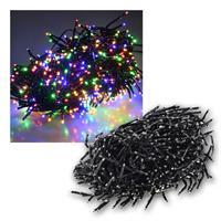 Büschel-Lichterkette | 600 LEDs | 6m | bunt | IP44 | 6W