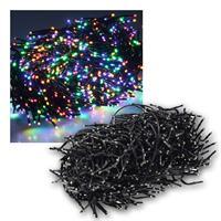 Büschel-Lichterkette | 1000 LEDs | bunt | 10m | IP44 | 12W