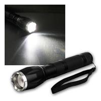LED torch light | 15W | 560lm | zoom | 6xAAA | IP 44