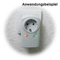 Zwischenstecker für elektrische Geräte zum Schutz vor Überspannung