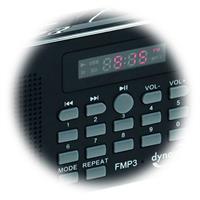 Abruf der gespeicherten Radiosender über die Tasten 1 bis 9