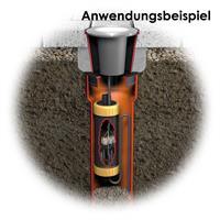 Kabelverbinder, beständig gegen Frost und Bodensäuren