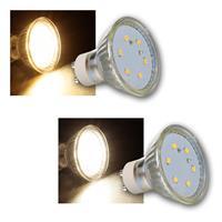 LED spotlight ET-10 | GU10 | warm white/daylight | 230V/3W