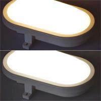 Feuchtraum-Leuchte mit 6 oder 12W Leistung in daylight oder warmweiß