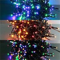 Cluster-Lichterkette für Außen in 4-10m Länge