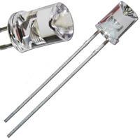 Leuchtdiode mit wasserklaren, konkaven Gehäuse, Ø5mm