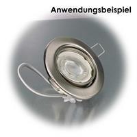 LED Lichtmodul passend für Einbaurahmen für Leuchtmittel mit Duchmesser 50mm