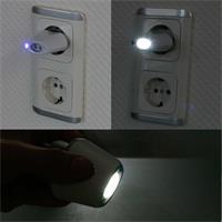 Multifunktionslampe: Nachtlicht, Notlicht, Taschenlampe