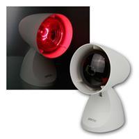 Infrarot-Lampe | verstellbarer Fuß | R95/E27-Leuchtmittel