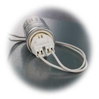 Anlaufkondensatoren mit Anschlusslitzen