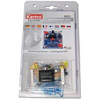 Bausatz mit sieben 5mm LEDs, Widerständen und einer Platine