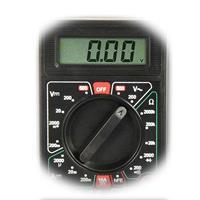 Multimeter mit Drehschalter für 19 Messbereiche