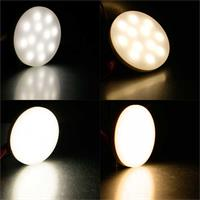 GX53 LED Strahler McShine mit 3/6W in warm- oder neutralweiß