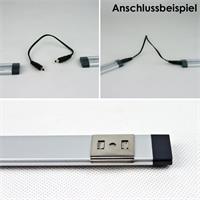 30, 50 oder 80cm lange LED Unterbauleuchten in warmweiß oder daylight