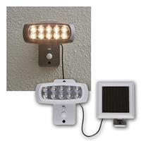 Solar floodlight POWERSPOT | 10 LEDs, 50lm, 3000K | PIR