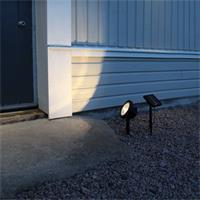 Solar LED Leuchte zum Anstrahlen von Objekten oder Beleuchten von Wegen