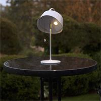 Solar LED Dekoleuchteleuchte mit schwenkbaren Lampenschirm
