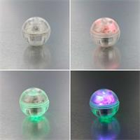 LED Lichtkugel mit verschiedenen Leuchteffekten für Flummi